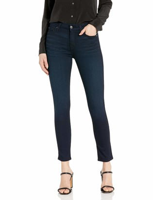 7 For All Mankind Womens High Rise Skinny Fit Ankle Jeans