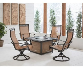Fleur De Lis Living Carlee 5 Piece Multiple Chairs Seating Group
