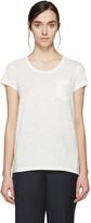 Moncler Ivory Trapeze T-Shirt