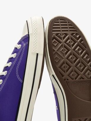 Converse Purple Chuck 70 Low Top Sneakers