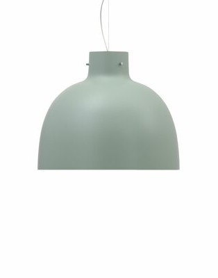 Kartell Bellissima 1-Light Single Dome Pendant Finish: Glossy, Shade Color: Green