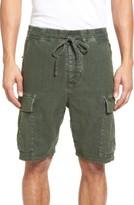 Vince Men's Drop Crotch Linen Blend Cargo Shorts