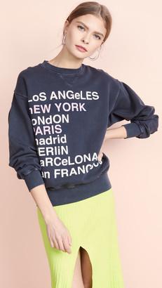 Anine Bing City Love Sweatshirt