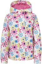 Trespass Childrens Girls Popstar Zip Up Waterproof Jacket