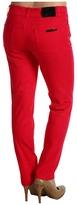 Anne Klein Petite - Petite 2 Pocket Skinny Jean in Rouge (Rouge) - Apparel