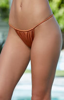 La Hearts Side Strap Skimpy Bikini Bottom