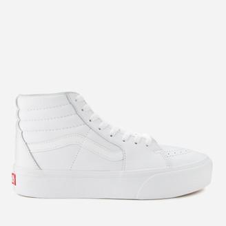 Vans Sk8-Hi Platform 2 Trainers - True White