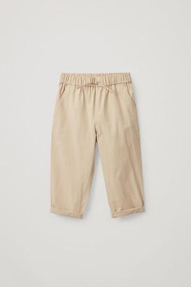 Cos Drawstring Cotton Pants