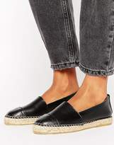 Park Lane Leather Espadrilles
