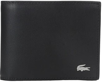 Lacoste FG Small Billfold (Black) Bill-fold Wallet