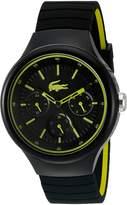 Lacoste Men's 'Borneo' Quartz Resin and Silicone Casual Watch, Color: (Model: 2010867)