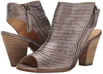 Paul Green Cayanne (Smoke Brushed Metallic) Women's Dress Zip Boots