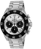 Invicta Men's 'Speedway' Quartz Stainless Steel Casual Watch, Color:-Toned (Model: 22392)