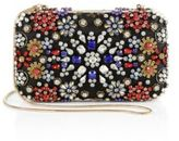 Alice + Olivia Crystal-Embellished Chain Clutch