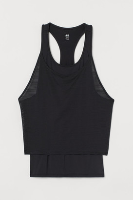 H&M Double-layered sports vest top