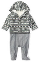 Ralph Lauren Baby Boys Three-Piece Hoodie, Overalls and Bodysuit Set