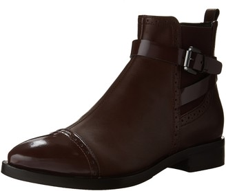 Geox Women's D Brogue C Urban Ankle Boot