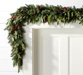 Pottery Barn Live Pomegranate Holiday Garland