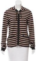 Sonia Rykiel Striped Knit Hoodie