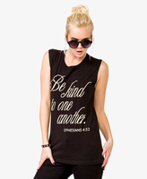 Forever 21 Be Kind To One Another Tank
