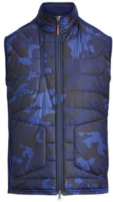 RLX Ralph Lauren Camo Stretch Terry Golf Vest