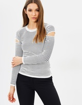 Karen Millen Cut-Out Detail Jumper