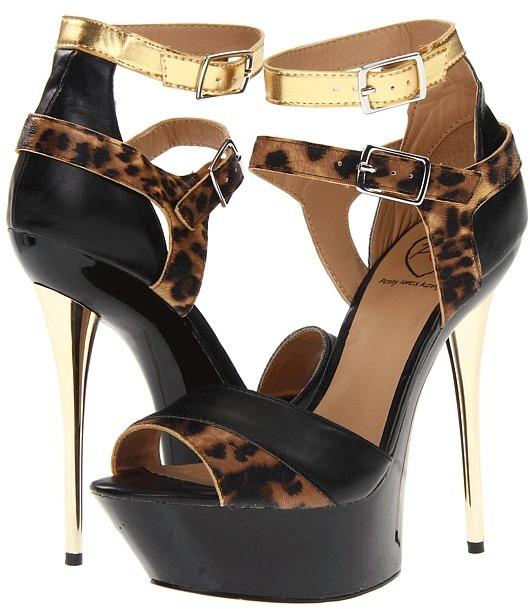 Penny Loves Kenny Buffy (Black/Leopard) - Footwear