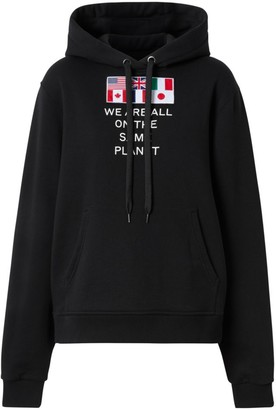 Burberry Poulter Multi Flag Hoodie