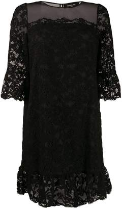 Paule Ka 3/4 sleeve lace dress