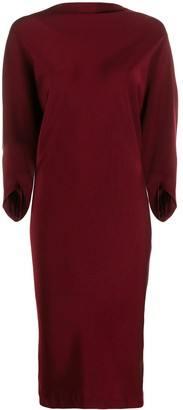 Chalayan Ruched Back Dress