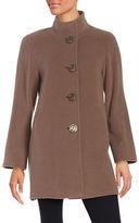 Cinzia Rocca Petite Wool Button-Font Jacket