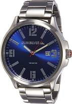 Quiksilver The Beulka Men's Quartz Watch with Blue Dial Analogue Display and Silver Stainless Steel Strap QS/1002BLSV