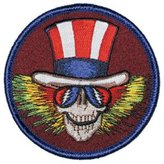 Old Glory Grateful Dead - Uncle Sam Patch