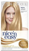 Clairol Nice 'n Easy, 9.5/98 Natural Extra Light Blonde, Permanent Hair Color, 1 Kit (Pack of 3)