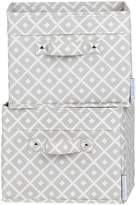 South Shore Furniture Storit Canvas Baskets with Pattern (2 Pack)