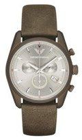 Emporio Armani Men's AR6076 Sportivo Analog Display Analog Quartz Brown Watch