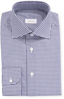 Brioni Men's Gingham Check Long-Sleeve Dress Shirt