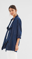 Esprit Softly draped jacket in a denim look