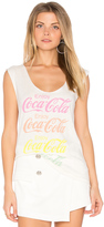 Junk Food Clothing Coca Cola Tank
