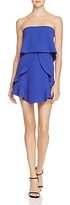 BCBGMAXAZRIA Strapless Ruffle Popover Dress - 100% Exclusive