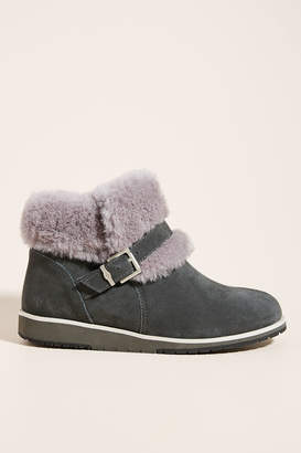 Emu Oxley Sherling Buckle Booties