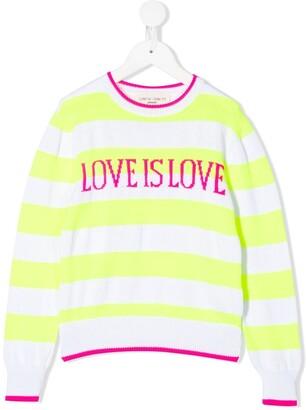 Alberta Ferretti Kids Love is Love jumper