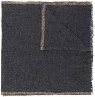 Eleventy alpaca twill scarf