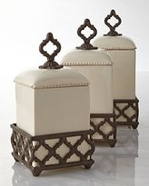 GG Collection Ogee-G Large Cream Canister - GG Collection*