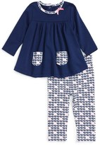Offspring Elephant Print Tunic & Leggings Set