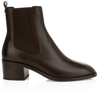 Aquatalia Jemma Leather Chelsea Boots