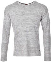 BOSS ORANGE HUGO Atounys Jumper Grey