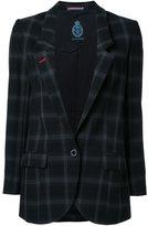 GUILD PRIME checked blazer - women - polyester - 36
