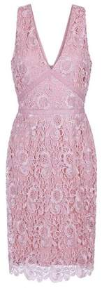 Dorothy Perkins Womens **Paper Dolls Blush Lace Bodycon Dress