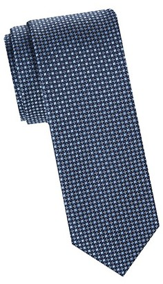 Saks Fifth Avenue Made In Italy Textured Silk Tie